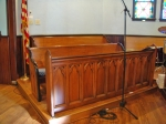 Choir Pews and Frontals
