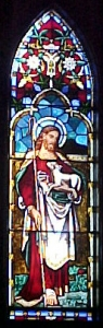 The Good Shepherd window at St. Luke's